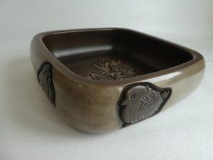 鉢「ふくら雀」松尾マユ水